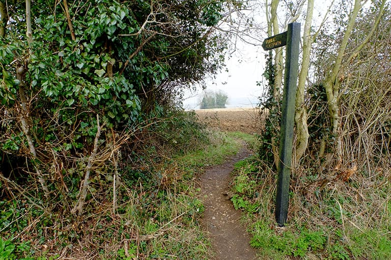Intro Image - Footpath Sign