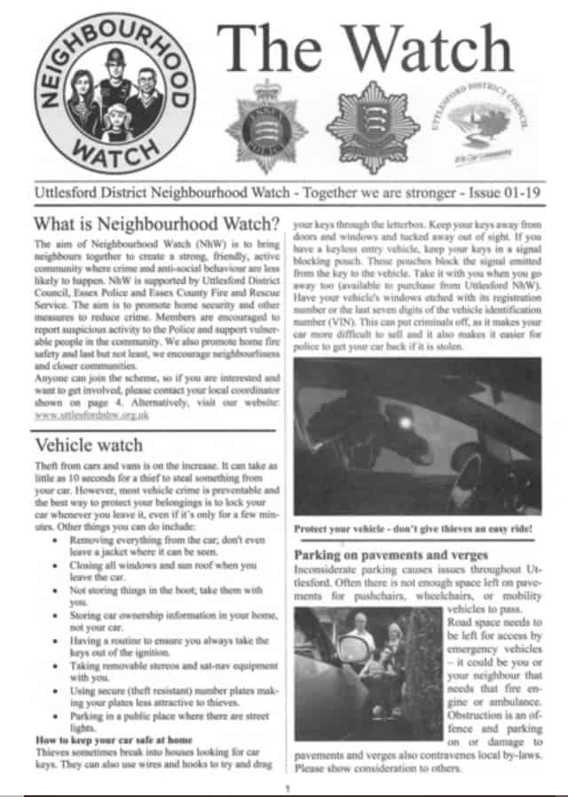 The Watch Newsletter