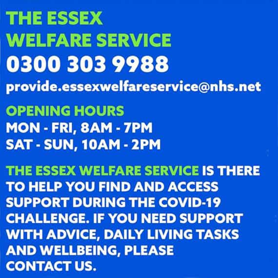 Essex Welfare Service Information