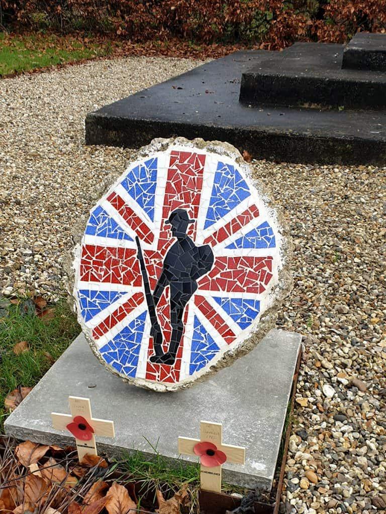 Mosaic at War Memorial