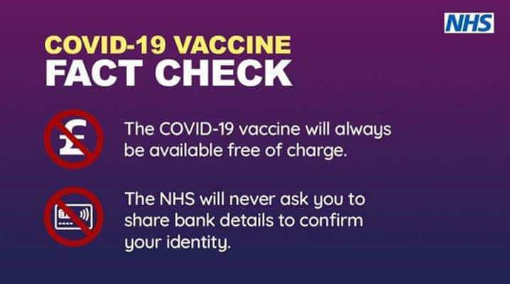 COVID--19 Vaccine Fact Check infographic