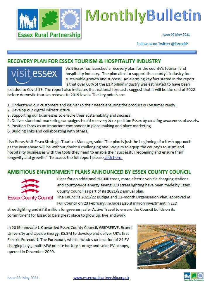 Essex Rural Partnership May 21 Front Cover